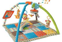 Baby Gyms and Playmats / Make floor time, fun time! Innovative baby gyms and tummy time play mats.  / by INFANTINO