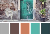 Color schemes / by Cindy Shultz