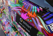 smart experiences / Being a smart owner is about more than driving a nifty car. It's about being a part of an exciting community of different-minded people. It's about getting together to drive across dams, or throw colored cornstarch at strangers. You know, the usual. / by Official smart USA