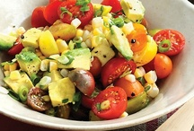 Sensational Salads / Quick and easy and healthy Salads / by Sara Kareer  Realtor Real Estate Agent
