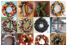 Wreaths!! / by Kimberly Griglen