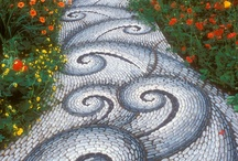Walkways & Outdoor Retaining Walls / Ideas for outdoor landscape / by Janet Van Gundy