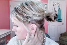 HAIRSTYLES I HAVE TRIED TO DO : ) / I've tried these on my own hair pass or fail....I'm not that skilled / by April Cochrane