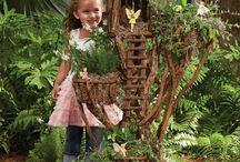 Fairy garden / by Pam Ferguson McCloud