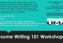 Workshops & Events / by UMA Career Advising