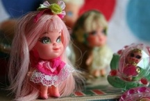 Dolls, Stuffies, Poppets and Stuff / by G LD