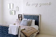 Guest room Ideas / by Virginia Kerr