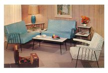 Fifties Living Room Decor Ideas / by Jessica Levenson Madden