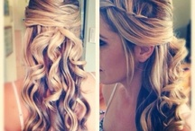 Wedding hair ideas / by Selena Durski Riem