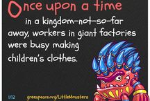 Little Monsters / Do you like stories? Here is a #Detox #Fairytale! / by Greenpeace
