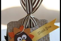 THANKSGIVING CARD & CRAFTING IDEAS / Thanksgiving card and crafting ideas! / by Barbara Charles