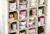 Craft Rooms/Storage / by Carolyn Roth Peeler