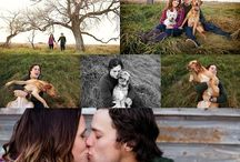 engagement pic ideas / by Lauren Peart