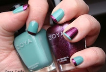 Cool Color Combinations / by Zoya Nail Polish