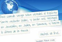 Motivación para la misión / Versículos de la  Biblia que muestran la importancia de compartir el evangelio #Biblia / by Sociedad Biblica Chilena