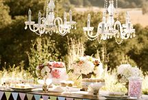 """Tendance/Trend: Candy Bar 2014 / Le Candy bar, un coin de paradis pour tous vos invités, qu'ils soient petits ou grands !   The Candy bar, a corner of paradise for all yours guests, doesn't matter if they are young and old alike!   """"Love is Sweet"""" / by Cymbeline Paris"""