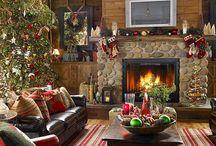 fireplace / by Pat Neiheisel