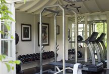 Garages and gyms / by Joanna Gaines The Magnolia Mom