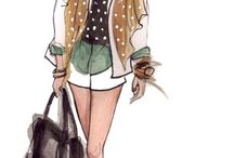 Fashion sketch / by Nina Bortsaykina
