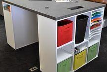 craft desks / by Kathleen Driggers