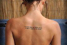 Tattoo ideas / by Stephanie Andrieu