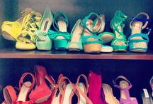 Glass slippers / a shoe will never make you feel fat or ugly / by Lauren Marie