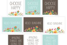 Printables / by Happy Homemaker