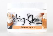Icing Genius / An icing concentrate made with natural ingredients perfect for icing cakes, cupcakes, cake pops, fillings, cookies, macaroons, pastries, bundt cakes & much more.  The unique rich flavors can be deliciously blended with other complimenting flavors, or your own buttercream, whipped cream, butter or shortening to fit your taste.  It can also be melted to be used as a sweet dip or glaze. / by CaljavaOnline.com