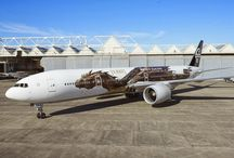 #AirNZHobbit Plane Reveal Featuring Smaug / Check out some of the pics of our new #AirNZHobbit Plane. / by Air New Zealand