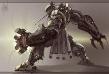 Mechs/Battle Suits/Droids etc / by Adam Single