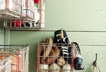 mud room / by Nici Holt Cline