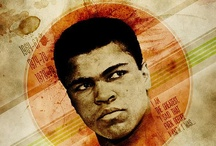 ♥ The Greatest ♥  / The Greatest of All Time - Muhammad Ali / by Bradley Walker