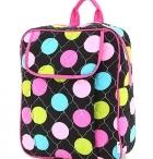 Girly Backpacks / www.thegirlygirlbowtique.com / by TheGirlyGirlBowtique