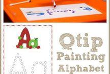 Alphabet and Names / by Keva Payne