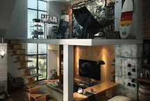 I'd Live Here - Dope Homes / by Chad Valentine