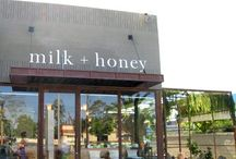 Milk and Honey / A wonder assortment of things that have to do with Milk and Honey. / by Michelle 'Russell' Forst