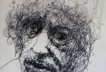 My Brett Whiteley series / my personal response to the life and work of Australian artist Brett Whiteley.  / by Harry Kent