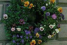 Living wreath / by Karen Vacchieri