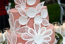 cakes/fondant / by Kristin Adams