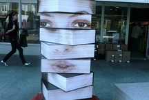 Literary Inspired Art / What's better than art inspired by books, libraries, etc.?  / by Linwood Community Library