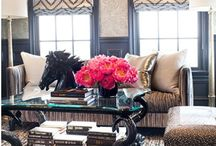 LIVING ROOM DESIGN IDEAS / by Reese Hall