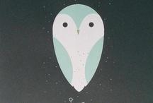 i heart owls / by Tiffany aka ♕ Princess Knits