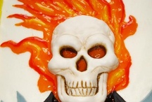 Ghost rider cakes / by Nancy Roldan