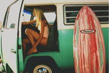 surfing, waves, hippies and more. / by Leah Wright