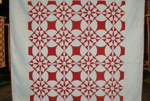 Quilts Red and White / by Linda Christie