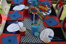 Jonathan and Lilly superhero birthday / by Maria Irizarry