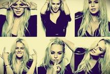 Lindsay Lohan ❤ / by Heidi Torralba