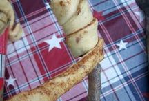Camping food ideas / by Christene Young
