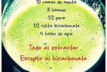 Green juices / by Ingrid Duran