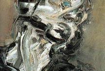 Frank Auerbach/Glenn Brown / by jose de la vega